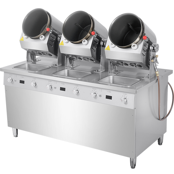 三头自动炒饭机(G30DC)