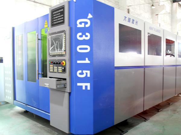 良灶大族g3015f光纤激光切割机